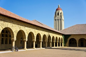 Memorial Courtyard, Stanford