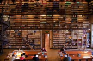 Bibliothèque de l'Ecole française de Rome, crédit Franco Bruni